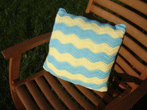 Häkelpolster, crochet pillow